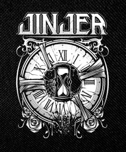 "Jinjer - Clock 4x5"" Printed Patch"