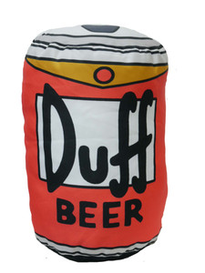 The Simpson - Duff Beer Throw Pillow