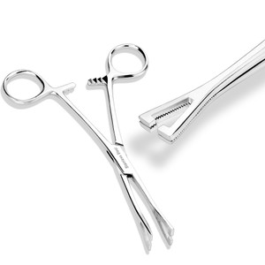 Medical Triangular Surgical Pennington Forceps for piercings