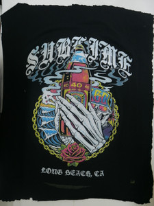 Sublime -  Long Beach Ca Backpatch Test print