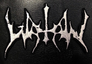 """Watain - Shapped Logo 5x3"""" Embroidered patch"""