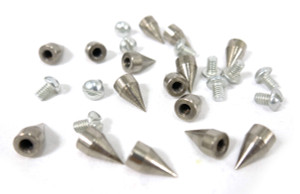 Small Metal Spike Stud 20 pieces
