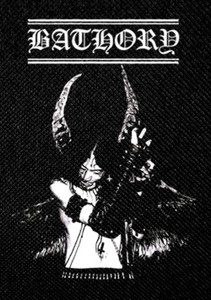 "Bathory - Quorton 4x5"" Printed Patch"