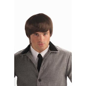 Short Brown 60s Mod Wig
