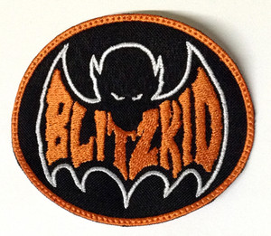 "Blitzkid 3.5x3"" Embroidered Patch"