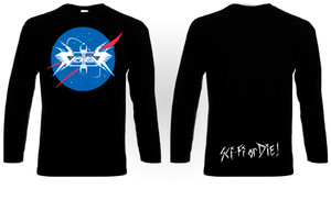 Vektor - Sci-Fi or Die! Long Sleeve T-Shirt