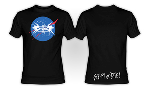 Vektor - Sci-Fi or Die! T-Shirt **LAST IN STOCK - HURRY!!**