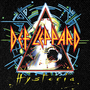 """Def Leppard - Hysteria 12x12"""" Backpatch"""