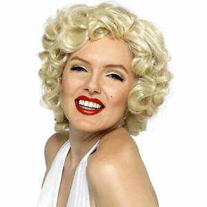 Marilyn Monroe Short Curly Blond Wig