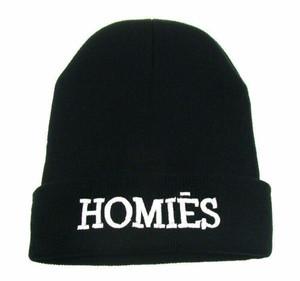 Homies Black Beanie