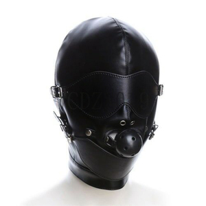 Gag Ball Bondage Fetish Mask