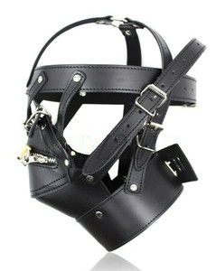 Bondage Strappy Face Mask