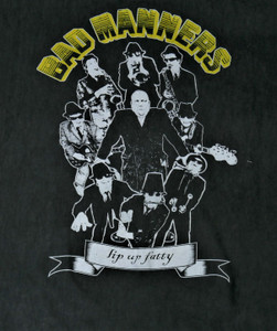 Bad Manners - Lip up, Fatty - Test BackPatch