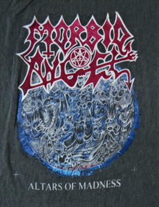 Morbid Angel - Altars of Madness Test BackPatch