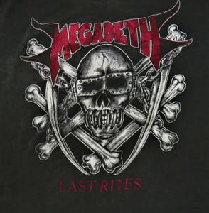 Megadeth - Last Rites - Test BackPatch