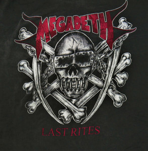 Megadeth Last Rites - Test BackPatch
