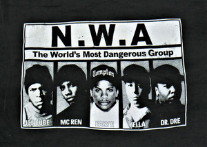 N.W.A. - The Most Dangerous Group - Test BackPatch