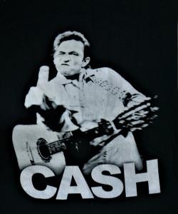 Johnny Cash - Middle Finger - Test BackPatch