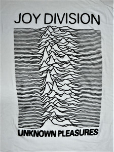 Joy Division - Unknown Pleasures - WHITE - Test BackPatch