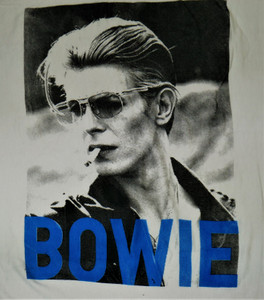 David Bowie - Cigarette in Blue - Test BackPatch