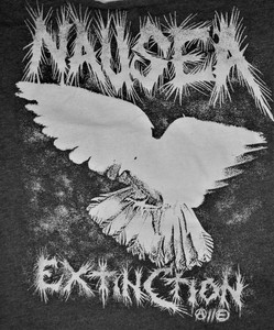 Nausea - Extinction - Test BackPatch