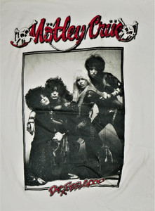 Motley Crue - Dr. Feel Good RED - Test BackPatch