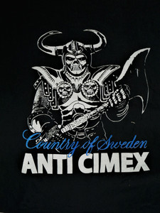 ANTI CIMEX - Country of Sweden - Test BackPatch