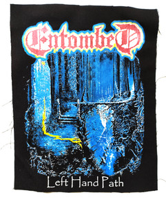 Entombed - Left Hand Patch Test BackPatch