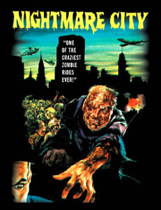 "Nightmare City - Zombie Ride 4x5"" Movie Color Patch"
