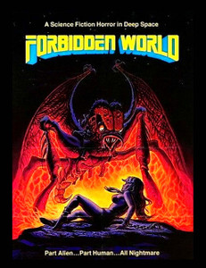 "Forbidden World - Part Alien Part Human 4x5"" Movie Color Patch"