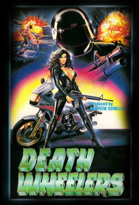 "Death Wheelers  4x5"" Movie Color Patch"