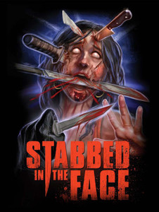 "Stabbed in the Face 4x5"" Movie Color Patch"