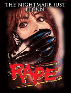 "Rape - The Nightmare Just Begun 4x5"" Movie Color Patch"