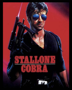 "Cobra - Sylvester Stallone 4x5"" Movie Color Patch"