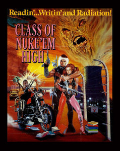 "Class of Nuke'em High 4x5"" Movie Color Patch"