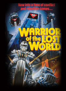 "Warrior of the Lost World - Rebellion 4x5"" Movie Color Patch"