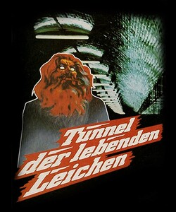 "Death Line - Tunnel Der Lebenden Leichen  4x5"" Movie Color Patch"