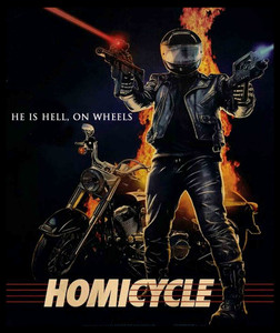 "Homicycle - Hell on Wheels 4x5"" Movie Color Patch"