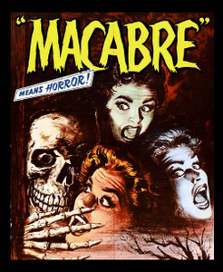 "Macabre - Means Horror 4x5"" Movie Color Patch"