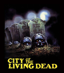 "City of the Living Dead 4x5"" Movie Color Patch"
