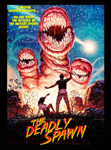 "The Deadly Spawn - Mutant Spores 4x5"" Movie Color Patch"