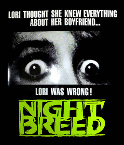 "Night Breed - Lori was Wrong 4x4"" Movie Color Patch"