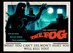 "The Fog - What You Can't See 5x4"" Movie Color Patch"