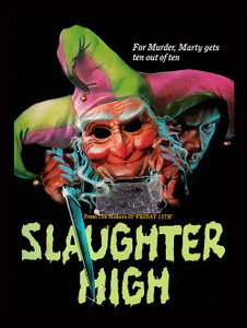 "Slaughter High - Murder Ten out of Ten 4x5"" Movie Color Patch"