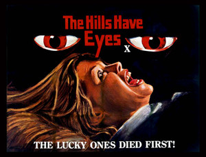 "The Hills Have Eyes - Lucky Ones Die First 5x4"" Movie Color Patch"