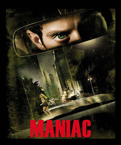 "Maniac - Psychological Slasher 4x5"" Movie Color Patch"
