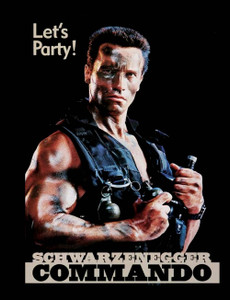 "Commando - Let's Party 4x5"" Movie Color Patch"