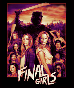 "The Final Girls - Horror Slasher 4x5"" Movie Color Patch"