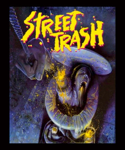 "Street Trash - Black Comedy Horror 4x5"" Movie Color Patch"