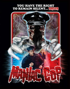 "Maniac Cop - Silent Forever 4x5"" Movie Color Patch"